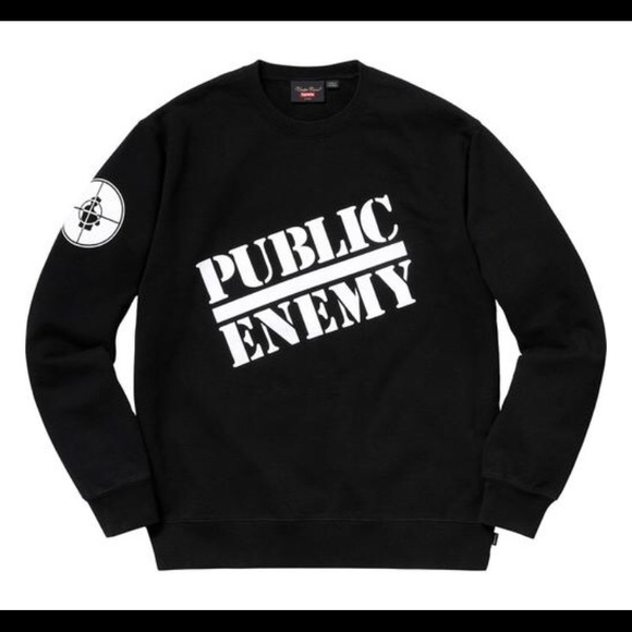 Supreme Public Enemy Sweatshirt